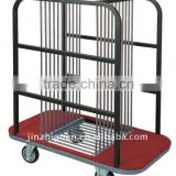 Hotel Glass Turntable Collection Trolley (F-193)