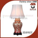 China antique art deco pottery lamps
