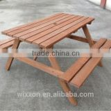 wooden outdoor bench table sets,wooden garden picnic table sets,wooden table set,wooden graden beer set