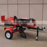 Electric start hydraulic pumps for log splitter