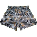 women's cheap top quality sublimation muay thai boxing shorts for sports gym