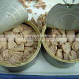 canned tuna chunk with vegetable oil