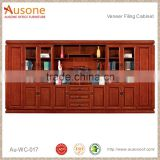 Bulk Sale Embossed Luxury Solid Wood Kitchen Wood File Cabinets