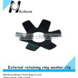 Customer OEM external retaining ring washer clip