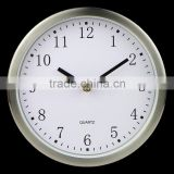 High quality quartz movement 12 inch metal wall clock