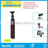 Best Factory Professional Flexible Mult-functional camera smartphone Mini Tripod for Digital Camera