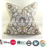 Wholesale custom cushion for reading in bed/Custom print cushion cover/plain cushion covers cotton