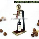 aaa grade zinc alloy rabbit corkscrew set for small order Corkscrew wine opener for gift