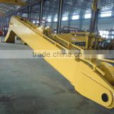 Excavator boom and stick long boom & long stick