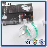 Colorful Rotating RGB 3 LED Spot Dome Light Bulb Lamp/color rotating 3 led party lamp bulb