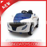 New Arriving!2.4GHz 3.2KM/H RC Ride On Toys Car Flashing Wheels Open door With 12V And MP3 for kids