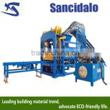 QT6-15A cement hollow block making machine sancidalo brand brick moulding machine in pakistan