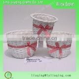 fancy Christmas bell shaped wicker gift basket                                                                                                         Supplier's Choice