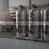 Fully automatic 3000L/H purified water RO water treatment system water filtration system