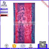 digital printing compressed stripe beach towel wholesale bulk