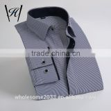Black and white striped discount button mens dress shirts