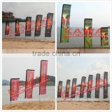 Custom advertising indoor and outdoor feather banners