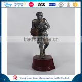 Newest Style Design Customized Polyresin Male Female 2015 NBA Resin Basketball Player Trophy Cup