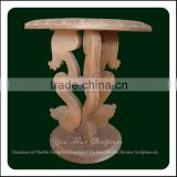 Marble Slab Table Top Base For Marble Round Dining Table