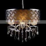 crystal flush mount ceiling light for bedroom
