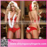 hot hot girl sxe photo Santa Hottie Helper Romper Costume christmas dresses for women