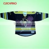 Sublimated hockey jerseys&wholesale blank hockey jersey&team usa hockey jersey cc-64