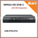 Compatible with major CA systems Cable STB Digital MPEG4 HD DVB receiver, DVB-C HD                                                                         Quality Choice