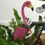 Home Yard Garden Lawn Art Ornaments Decoration Plastic Pink Flamingo Statue