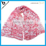 special pink color best selling arab head scarf for women