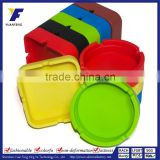 Household windproof and waterproof silicone floor pedestal standing ashtray