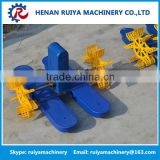 2HP fish farming aerator, paddlewheel aerator, fish pond equipment with split bracket made in China