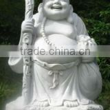 Happy Buddha with baby sculpture DSF-P096