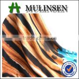 Mulinsen textile manufacture stretch fabric for garment, sport fabric polyester