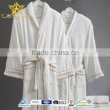 5 star Hotel Bathrobes/cotton chenille bathrobes/cheap white bathrobes/cheap bathrobes for aduts