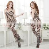 7028 New design black fishnet body stocking 2015