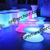 shanghai commercial furniture night club event rental party use lounge acrylic LED bubble stool