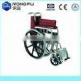 foldable manual aluminum wheelchair