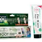 Aichun best sale hand and foot whitening cream English packing mlik olive essence