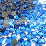 star light manufacture good quality ss20 sapphire color dmc rhinestone hot-fix for DIY beauty store