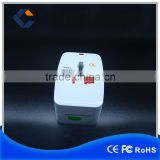 USB travel adaptor for global univeral travel conversion plug with socket                                                                         Quality Choice