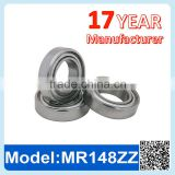 MR148 ZZ RS Miniature Ball Bearing Deep Groove Ball Bearing