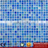 IMARK blue Gold Star Glass Mosaic Tile Mix Quartz Glass Mosaic Tile Kitchen Tile Bathroom Tile Wall Art Mosaic Tile Cheap Tile