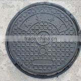 cast iron manhole covers nodular round ductile corrosion resistance security high quality manhole covers sizes