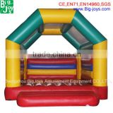 Inflatable bubble bouncer baby air trampoline with fisher price