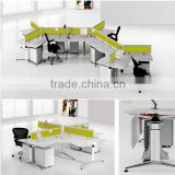 customize 1 2 3 4 person modern office workstation/office workstation for open office