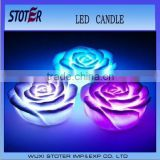 rose shape LED light candle