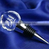 popular crystal wine stopper with custom engraving
