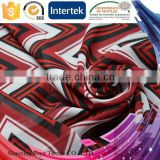 China direct manufacturer polyester 75D border print dress chiffon fabric for dress
