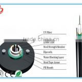 Central Loose Tube Single-mode Optical fiber Aerial/ Duct, Direct Burial GYXTW fiber Cable