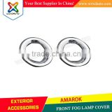 VW AMAROK FRONT FOG LAMP COVER ABS CHROME CAR ACCESSORIES